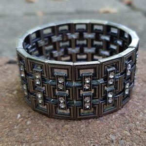 Lia Sophia stretch bracelet.
